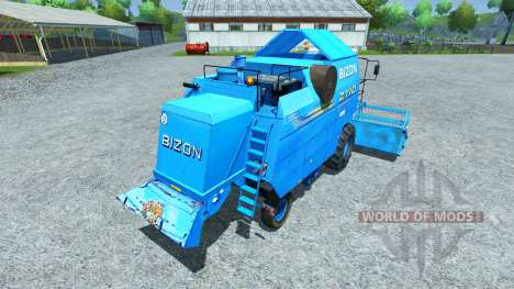 Bizon Z 110 blue für Farming Simulator 2013