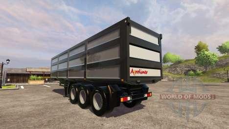 La Remorque Kroger Agroliner pour Farming Simulator 2013