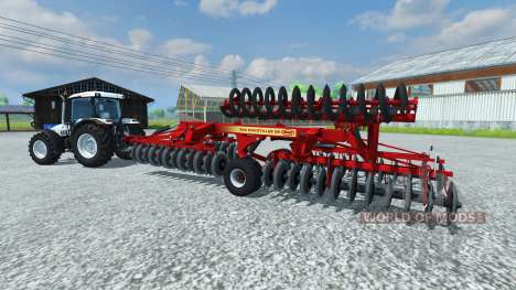 Harrow Vicon Discotiller 6.3 XR für Farming Simulator 2013