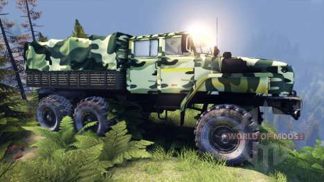 Oural-4320-41 camo pour Spin Tires