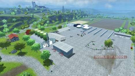 Bahlen Map für Farming Simulator 2013