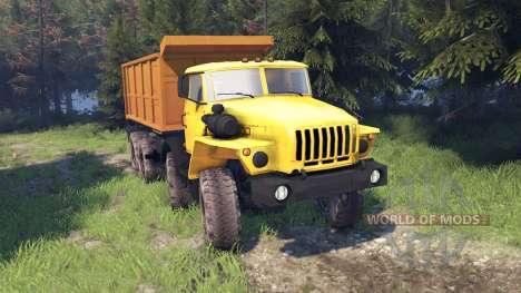 Ural-6614 für Spin Tires