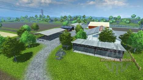 Sample Mod Map pour Farming Simulator 2013