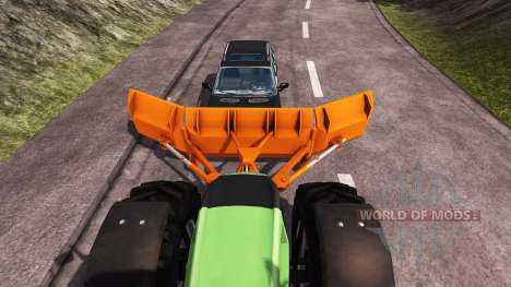 U-förmige Klinge Holaras für Farming Simulator 2013