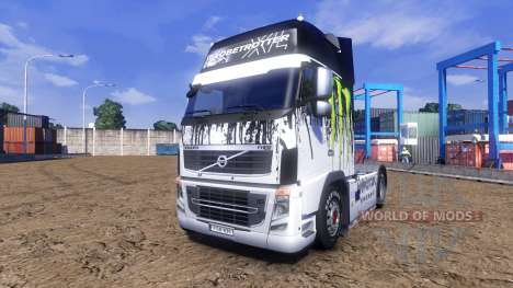 Couleur-Monster Energy - camion Volvo pour Euro Truck Simulator 2