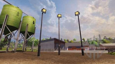 Lampadaire pour Farming Simulator 2013