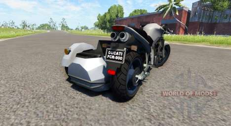 Ducati FRC-900 with a sidecar v4.0 für BeamNG Drive