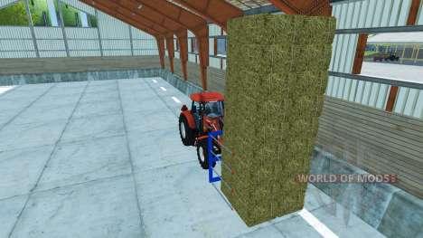 Gabeln für die Verladung von nicht-original-Ball für Farming Simulator 2013