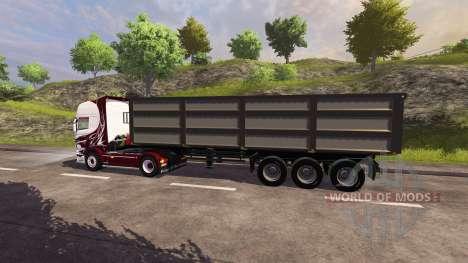 Der Anhänger Kröger Agroliner für Farming Simulator 2013