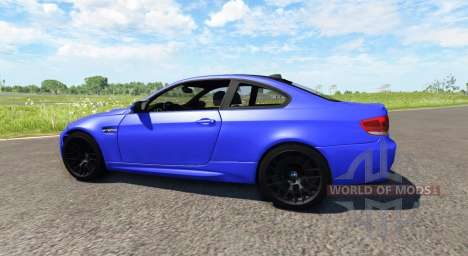 BMW M3 E92 2008 für BeamNG Drive