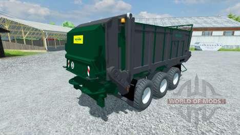 Remorque Tebbe HS 320 pour Farming Simulator 2013
