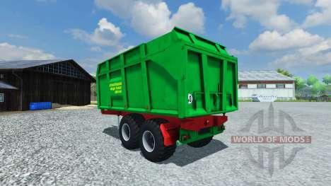 Прицеп Strautmann Mega-Trans SMK 14-40 pour Farming Simulator 2013