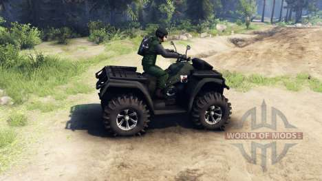 Polaris Sportsman 4x4 für Spin Tires