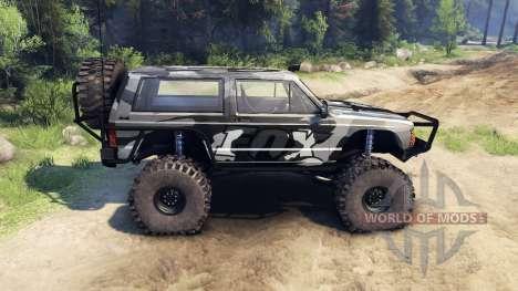 Jeep Cherokee XJ v1.3 Camo für Spin Tires