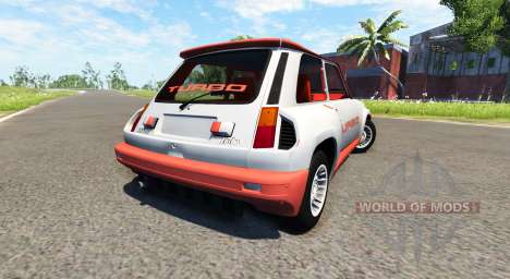 Renault 5 Turbo für BeamNG Drive