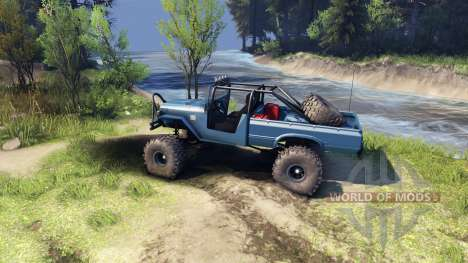 Toyota FJ40 Steel Blue pour Spin Tires