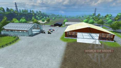 Sample Mod Map pour Farming Simulator 2013
