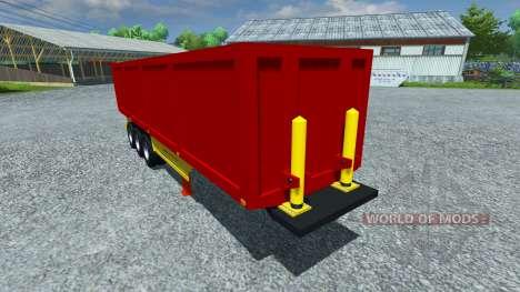 Die semi-trailer Schmitz SKI-50 für Farming Simulator 2013