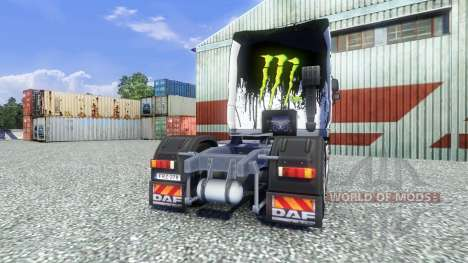 Farbe-Monster Energy - für DAF LKW für Euro Truck Simulator 2