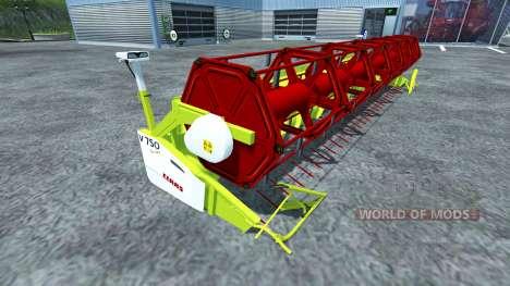 Reaper Claas Vario 750 für Farming Simulator 2013