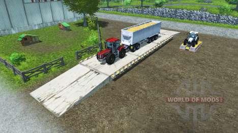 Zone de chargement pour Farming Simulator 2013