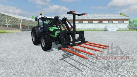 Gabeln für die be-Ballen für Farming Simulator 2013