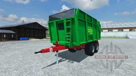 Прицеп Strautmann Mega-Trans SMK 14-40 für Farming Simulator 2013