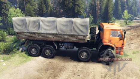 KamAZ-6560, nl pour Spin Tires