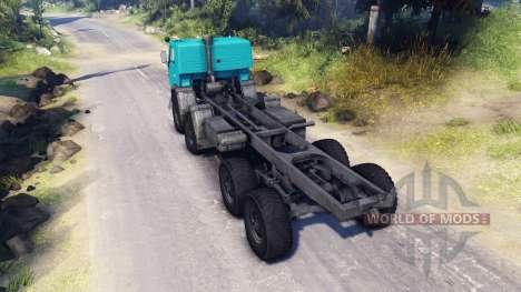 KamAZ-6350 für Spin Tires