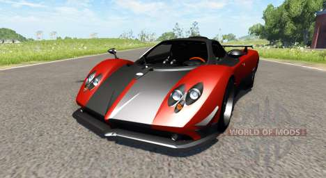 Pagani Zonda Cinque Roadster 2009 pour BeamNG Drive