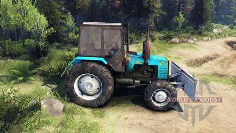 MTZ-1221 Bélarus v2.0 pour Spin Tires