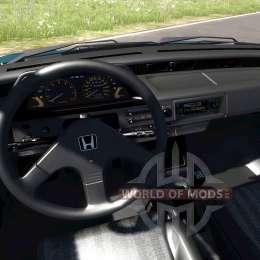 Honda Civic Si 1986 pour BeamNG Drive
