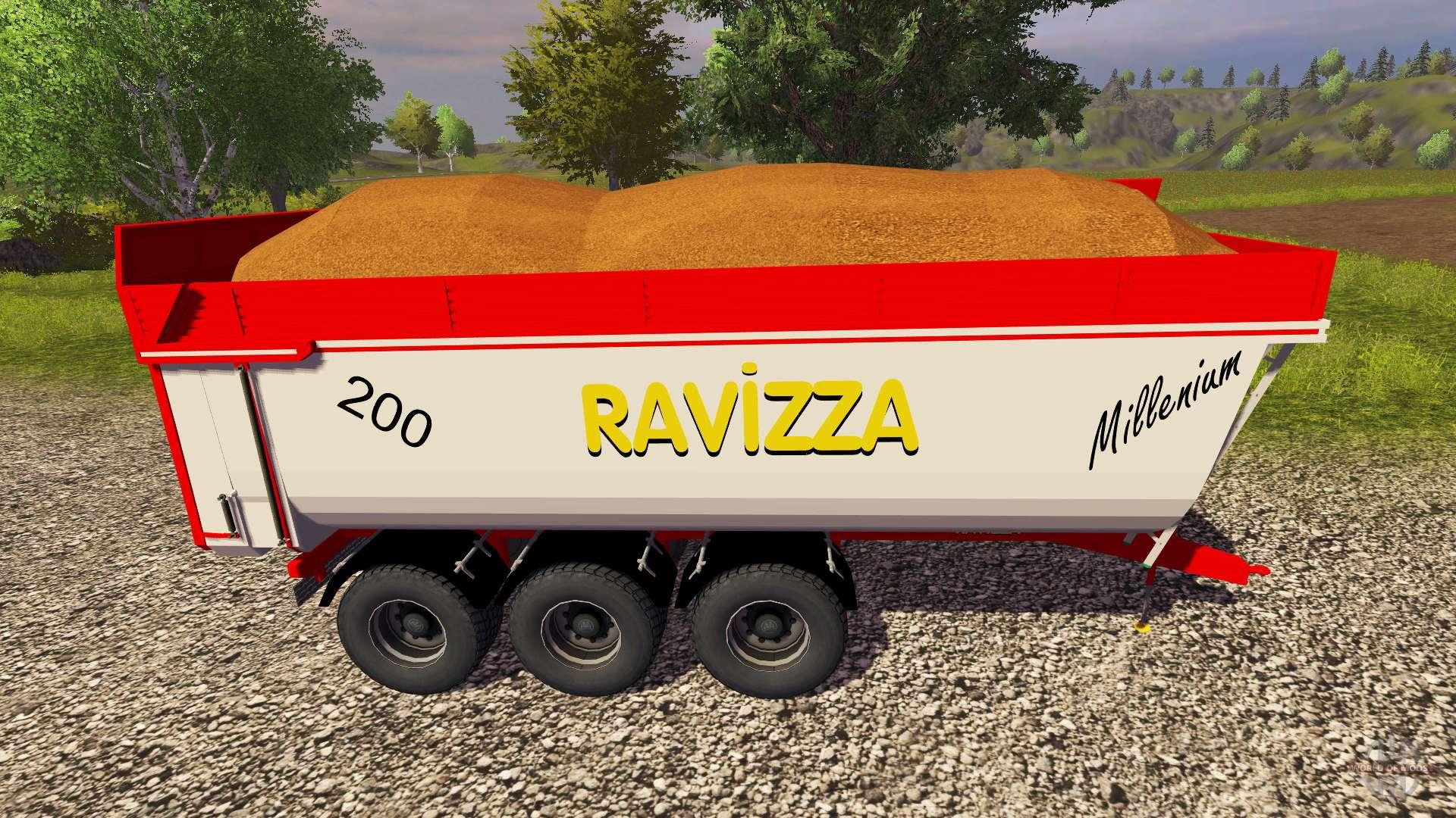 Anh nger ravizza millenium 8200 f r farming simulator 2013 for Ravizza rimorchi