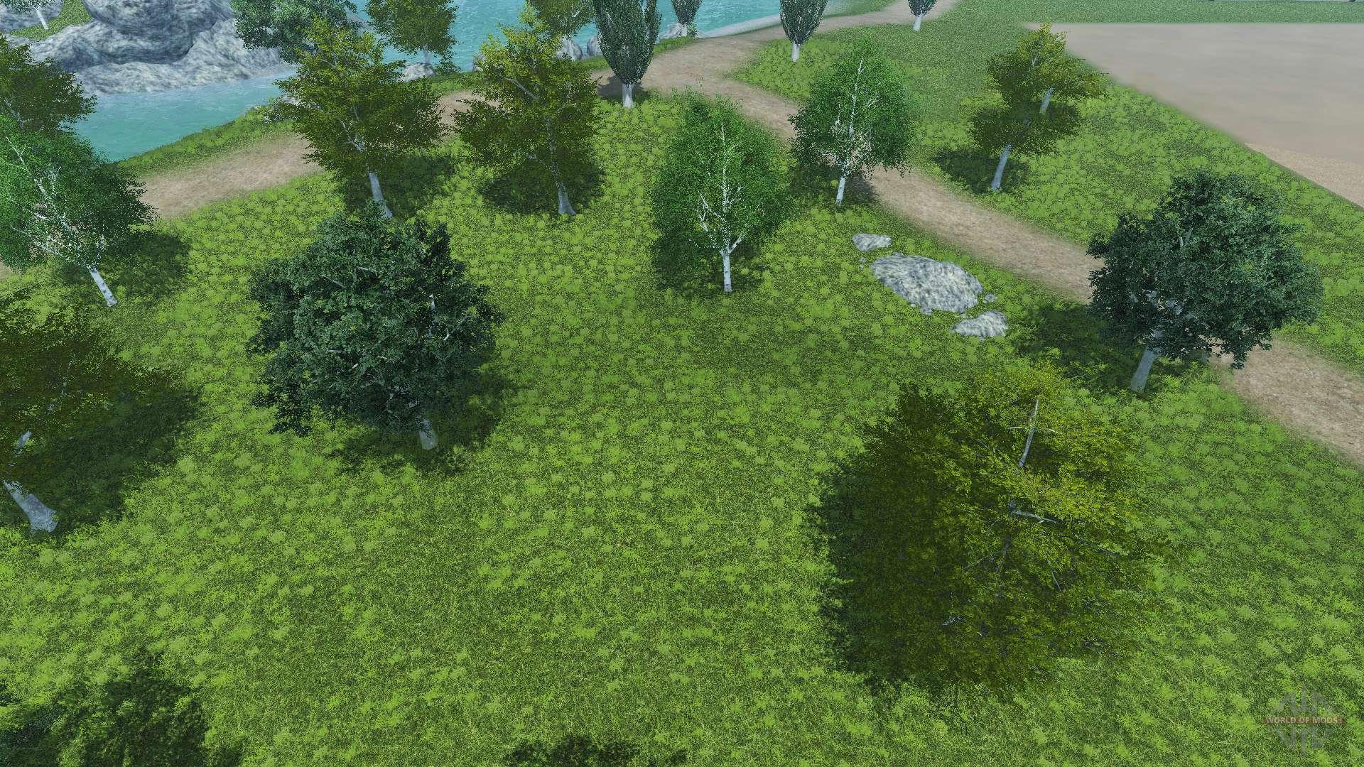Neue Texturen Der B 228 Ume Und Das Gras F 252 R Farming Simulator