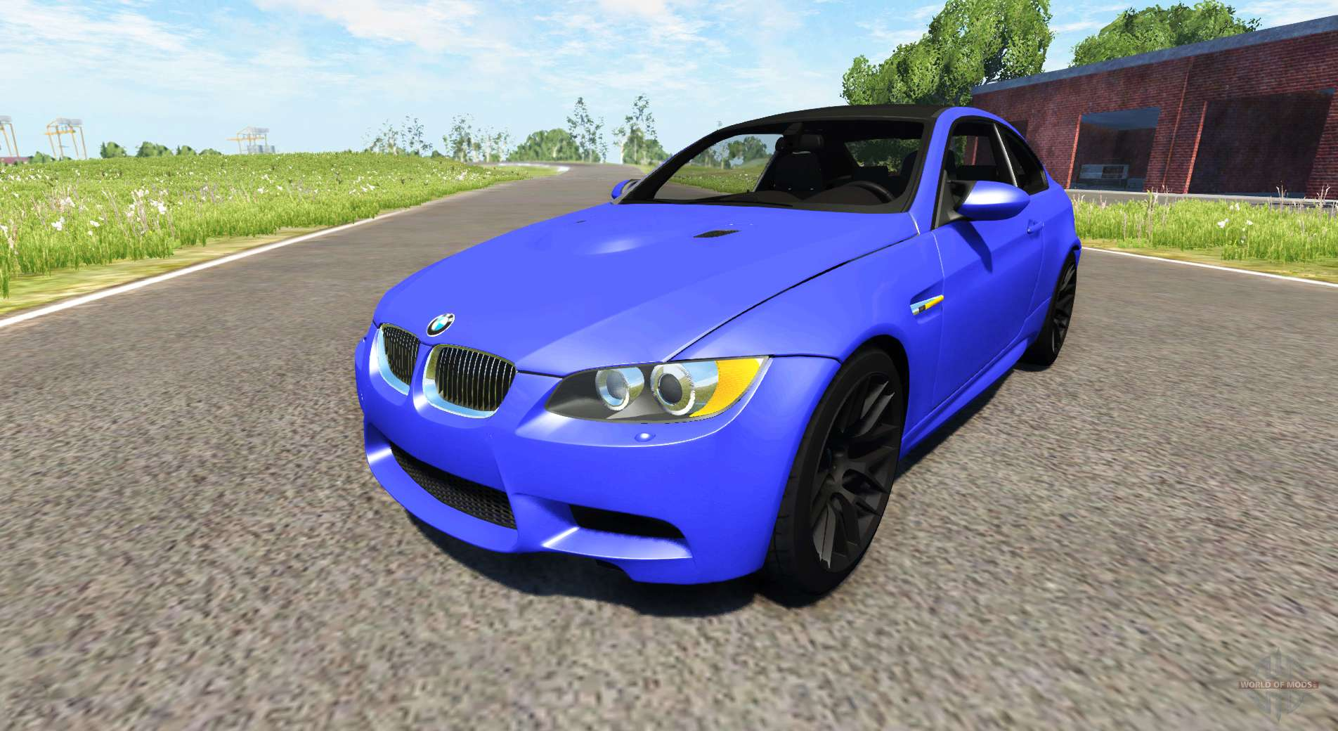 Bmw m3 e92 2008 pour beamng drive for Karting exterieur 92