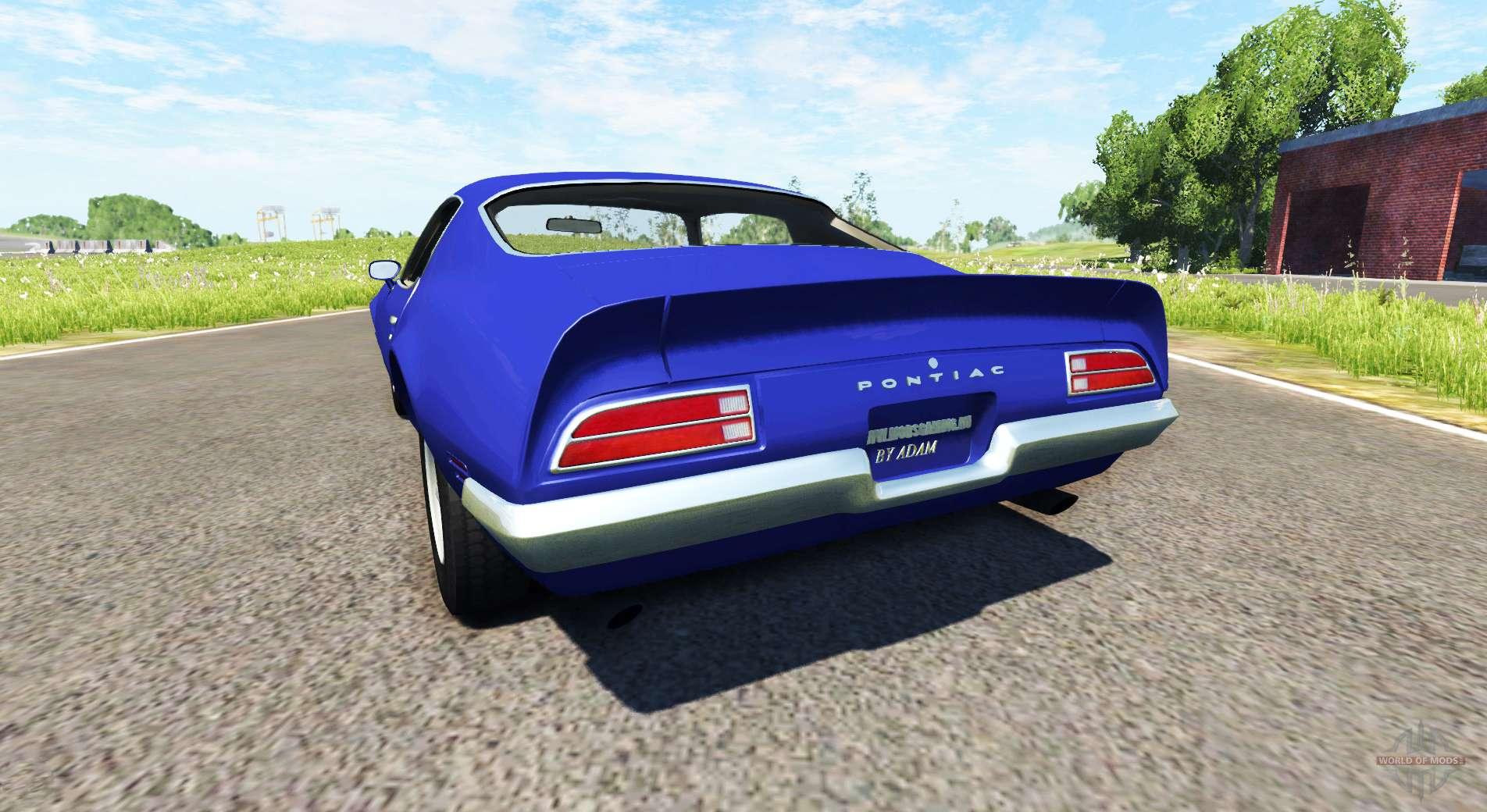 Pontiac Firebird 1970 Für Beamng Drive