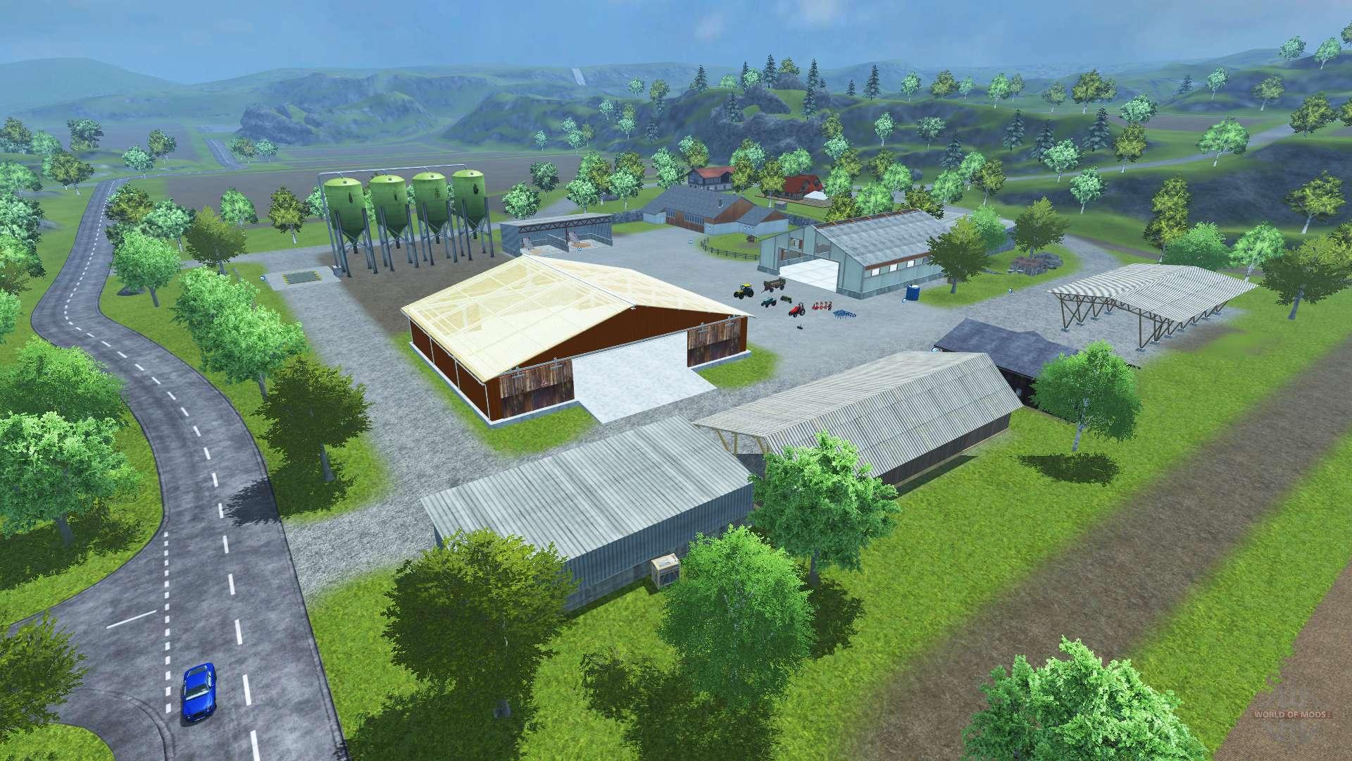 Sample Mod Map für Farming Simulator 2013