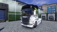 Couleur-Monster Energy - camion Scania