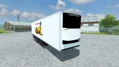 Semi-tiefgekühlt KRONE Koffer Cool Liner