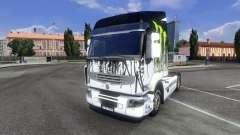Farbe-Monster Energy - für Renault Premium-Zugma