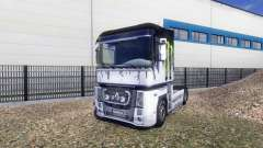 Couleur-Monster Energy - sur un tracteur Renault
