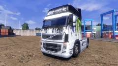 Couleur-Monster Energy - camion Volvo