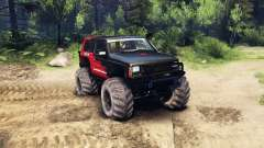 Jeep Cherokee XJ v1.3 Rough Country red clean