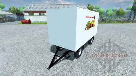 Remorque Koffer pour Farming Simulator 2013