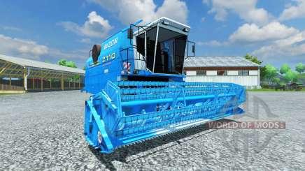Bizon Z 110 blue für Farming Simulator 2013