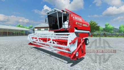 Bizon Z 110 red pour Farming Simulator 2013