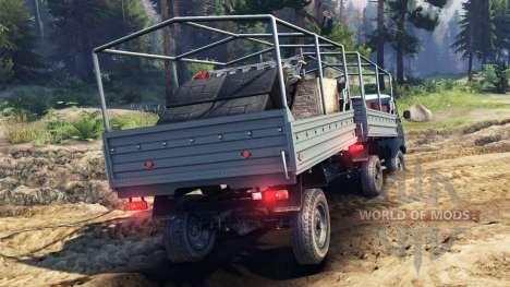 UAZ-29232 pour Spin Tires