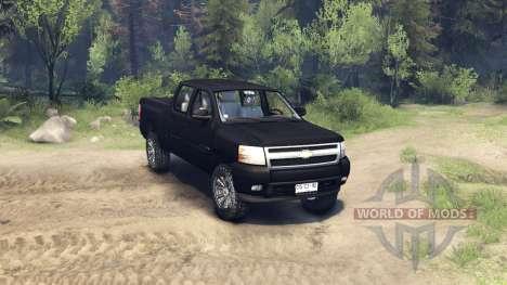 Chevrolet Silverado 2011 pour Spin Tires