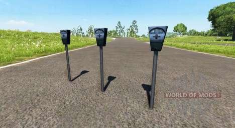 Parking mètre pour BeamNG Drive