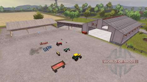 Orginal Pulen Map v1.01 für Farming Simulator 2013